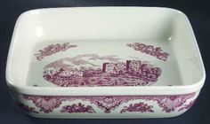 johnson brothers castles pink baker - Google Search $39.99