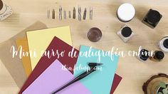 Mini curso de caligrafía online - Three Feelings