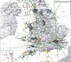 Ley line maps of Britain - Ancient Mysteries & Alternative History - Unexplained Mysteries Discussion Forums