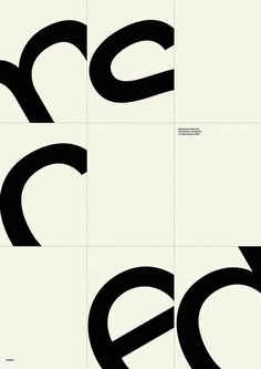 Swiss/International (specifically John Rieben) - use of grid, use of white space, absence of color, sans serif type, extreme text size, visual gestalt, abstracted text  (via Designspiration — Every reform movement has a lunatic fringe)
