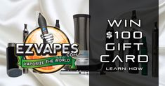 We're giving away $100 to one lucky winner! Winner will be selected Wednesday, June 29th 2016. No purchase necessary. Enter here: http://sociali.io/lp/10030/ezv100-1 More info: http://ezvaporizers.com