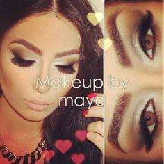 #smokeyeyes@makeupbymaya