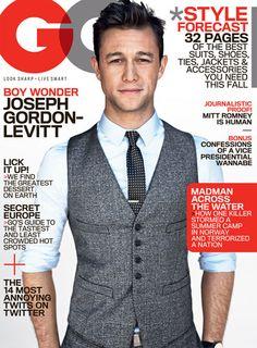 Joesph Gordon-Levitt GQ Cover. Yes. Please