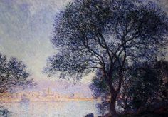 Antibes Seen from the Salis Gardens1 1888 | Claude Monet | Oil Painting #impressionism