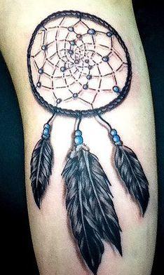 Native American Dreamcatcher Tattoos   Dreamcatcher Tattoos on Dreamcatcher Tattoo Inked Inspiration A ...