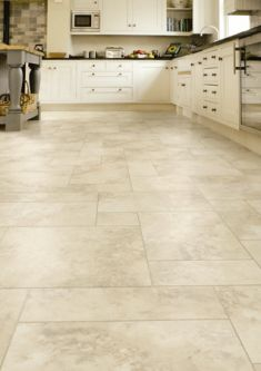 Vinyl kitchen flooring is a very popular choice by homeowners. Vinyl kitchen flooring offers many benefits to the homeowner who has children, pets, or lives an active lifestyle. These floors are ve… Vinyl Flooring Rolls, Luxury Vinyl Tile Flooring, Vinyl Tiles, Diy Flooring, Stone Flooring, Flooring Ideas, Ceramic Flooring, Linoleum Flooring, Kitchen Vinyl