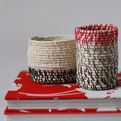 TUTORIAL :: Make rope coil vessels
