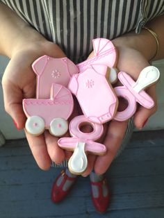 Baby Shower Cookies by #BakedIdeas