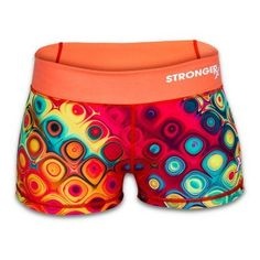 Disco Rx 3 Compression Workout Booty Shorts from Stronger Rx. Orders under in the USA ship free at Fitness Sanctum. Stock up on CrossFit style apparel at Fitness Sanctum. Crossfit Shorts, Compression Shorts, Crossfit Athletes, Athletic Shorts, Workout Gear, Fitness Inspiration, Booty, Women's Shorts, Work Outs