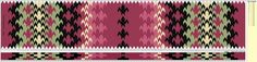 Beltestakk 005 - 134 brikker burgunder Inkle Weaving, Card Weaving, Tablet Weaving Patterns, Braids With Weave, Weaving Projects, Projects To Try, Crafts, Loom Beading, Color