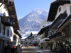 Oberstdorf Germany My home place, right out of a Post Card.  What a beautiful place to spend Christmas or for that fact, any time of the year.  Where my heart is......