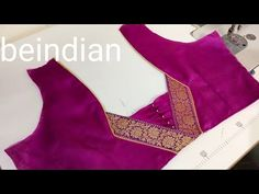 stiching New Model Blouse Back Neck Design Cutting and Stitching/paithani blouse Blouse Blouse back neck designs Cutting design Model Neck stiching Stitchingpaithani Patch Work Blouse Designs, Simple Blouse Designs, Stylish Blouse Design, Saree Blouse Neck Designs, Designer Blouse Patterns, Fancy Blouse Designs, Blouse Neck Patterns, Traditional Blouse Designs, Blouse Models