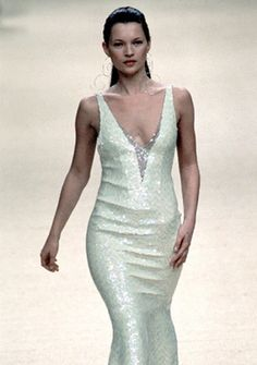 Kate Moss in Chanel  Haute Couture  1999
