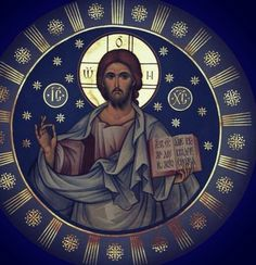 Icon of Christ the Pantocrator. Religious Images, Religious Icons, Religious Art, Byzantine Icons, Byzantine Art, Christ Pantocrator, Religion, Pictures Of Jesus Christ, Orthodox Christianity
