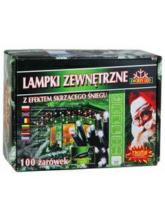Lampki chonkowe z unikalnym efektem skrzącego śniegu, wyposażone w dodatkowe gniazdo. Lampki są niezastąpione przy tworzeniu wszelkiego rodzaju fantastycznych dekoracji świetlnych. Możliwość użytkowania wewnątrz i na zewnątrz.