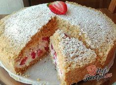 Babiččiny perníkové řezy | NejRecept.cz Chia Pudding, Almond Recipes, No Bake Cake, Vanilla Cake, Cake Recipes, Cheesecake, Food And Drink, Cooking Recipes, Yummy Food