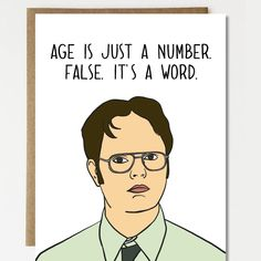 37 best greeting cards images on pinterest card birthday cartas funny birthday card dwight schrute the office tv show birthday card greeting card birthday gift m4hsunfo