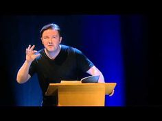 Ricky Gervais reads The Bible- perfection!! So funny :) especially when he starts talking about the Swiss and the French !!
