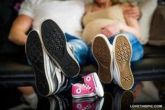 Converse Family babies maternity moms pregnancy