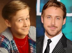 Ryan Gosling   The heartthrob actor got his big break at age 12 on The All-New Mickey Mouse Club. Since then, he's been wooing us onscreen in romantic tear jerkers like The Notebook and heartfelt rom-coms like Crazy, Stupid, Love.