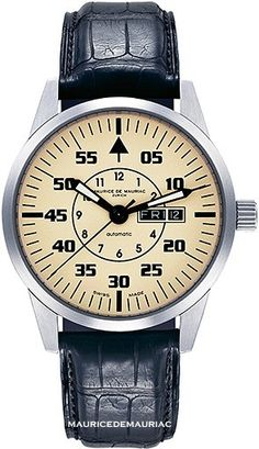 Automatic Modern Collection of Watches from Swiss Watchmakers Maurice de Mauriac.