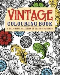 13,60€. The Vintage Colouring Book