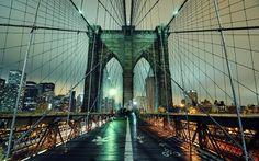 El puente de Brooklyn una muestra del poder e imponencia de las estructuras... #EstructurasMetalicas   Bonito miércoles les desea #alcome