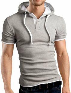 Grin&Bear SLIM FIT Poloshirt T-Shirt Kapuzenshirt, verschiedene Farben, GB105 Grin&Bear, http://www.amazon.de/dp/B00CH03A4Y/ref=cm_sw_r_pi_dp_4nTwtb1AA5JND