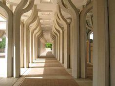 Arcade, Central Mosque, Rome