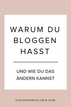 Gehört das Bloggen für dich als Selbstständige nicht gerade zu deinen Lieblingsbeschäftigungen? Keine Panik! Mit diesen 4 Mindset-Hacks kannst du das Bloggen lieben lernen #bloggingtipps #selbstständig #mindset #schreibtipps