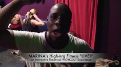 "MARINA's ""High-nrg Fitness LIVE!""  Fan Kyle Busts It Out Musical Theatre, Musicals, Fan, Workout, Live, Fitness, Youtube, Work Outs, Keep Fit"