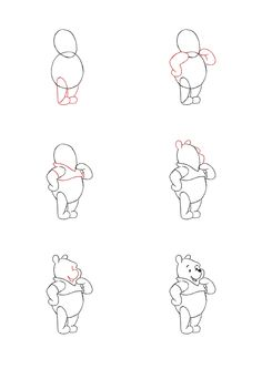 Image For Easy Anime Tweety How To Draw Cartoon Characters Step By