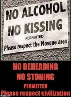 Freedom of expression over rules you desire to impose sharia law on non believers ! Islam Religion, Islam Muslim, Ban Islam, Political Ideology, Sharia Law, Conservative Politics, Atheism, Common Sense, It Hurts