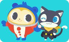 Persona Series: Teddy and Morgana Anime Fnaf, All Anime, Persona 5, Video Game Art, Video Games, Persona Crossover, Pikachu, Pokemon, Shin Megami Tensei Persona