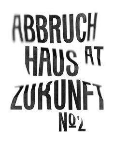 Flyer announcing a party at the club Zukunft in Zurich. The give-away was a diamond, laser-cut from fabric by Jakob Schläpfer, which inspired us to experimenting with light refractions on typography, using our typeface 'Kasparov'. Printed on 45 gsm white and metal coated paper. Fonts: Kasparov