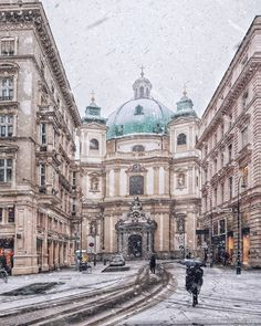Heavy Snow in Vienna what is the weather