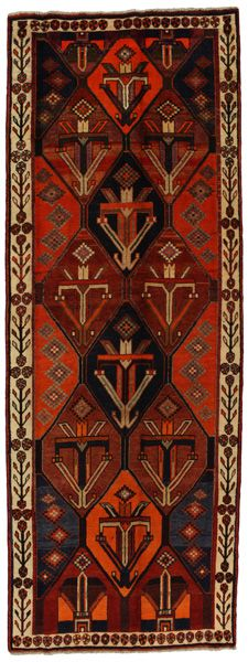 Bakhtiari Persian Carpet 370x134
