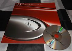 FERRARI 550 BARCHETTA PININFARINA PRESS BROCHURE PROSPEKT PRESS PACK + CD 2000