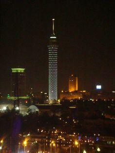 Cairo by night.