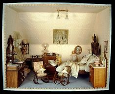 Room Box, Doll's Bedroom