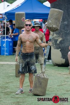 This is what the racers have to look forward too!  SPARTAN GLADIATORS! #SpartanRace #Obstacle www.spartanrace.com