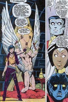 Art by: Paul Smith Uncanny X-men Comic Book Artists, Comic Artist, Comic Books Art, Marvel Comics, Marvel Heroes, Comic Book Panels, Comic Book Covers, X Men Costumes, Steve Ditko