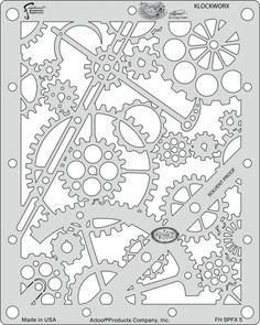 Artool | Mini Schablonen Set | Steampunk FX