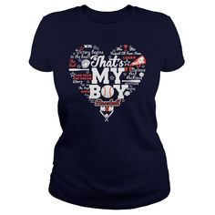 That's My Boy Baseball Mom t shirts and hoodies