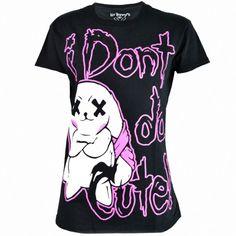 Luv Bunnys LB Not Cute Women's T-Shirt