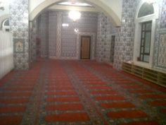 inside blue mosque, Johannesburg, Guateng