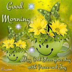 picmix gif good morning/butterfly/gifs | Good Morning, May God Bless Your Day Pictures, Photos, and Images for ...