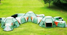 Endless Combination of Decagon Modular Tents