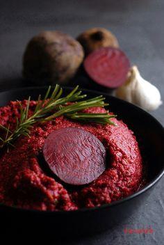 Rote Bete Pesto, ein gesundes Rezept