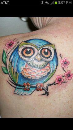 Owl tattoo :)